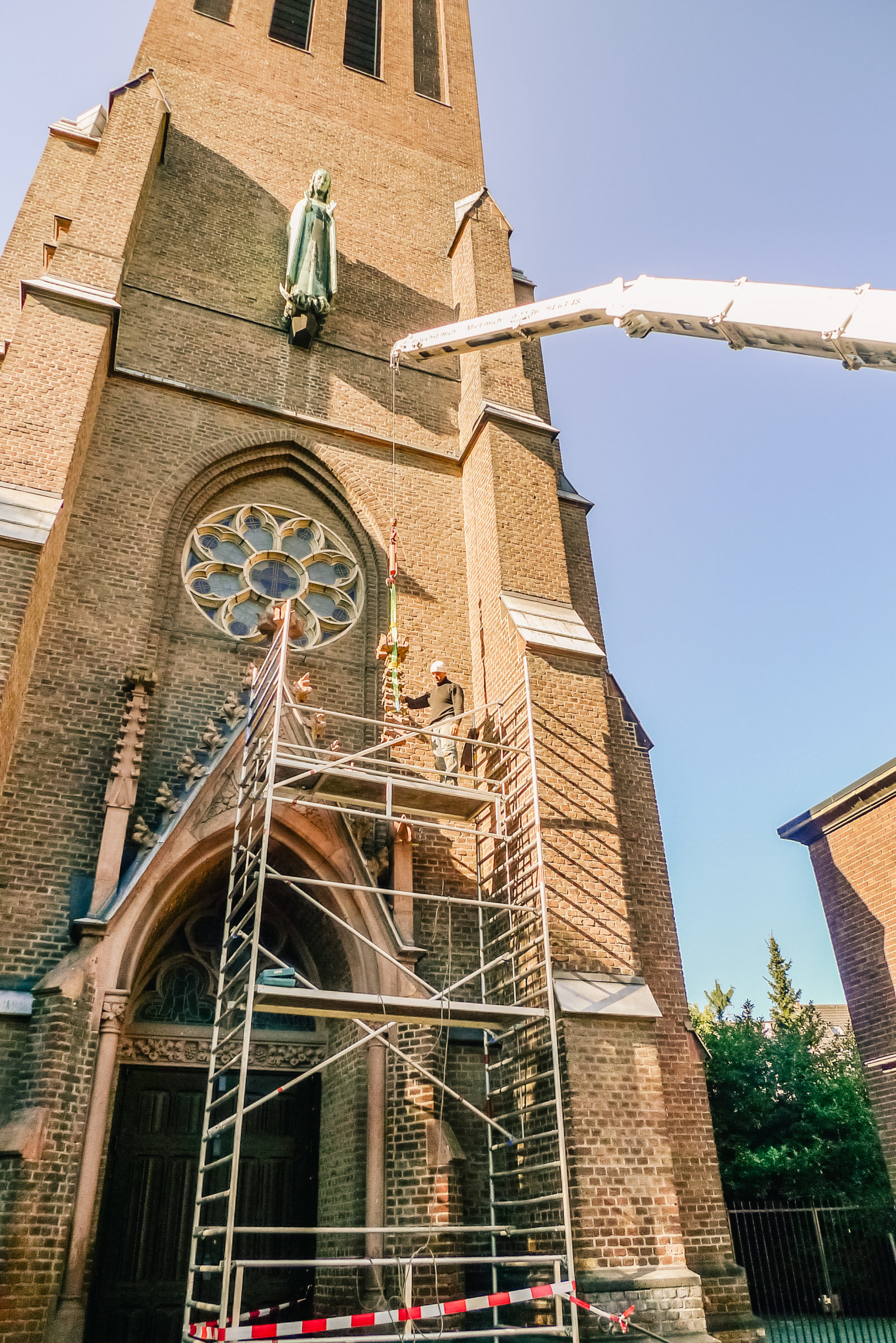 Restaurierung Köln die grandiosität des steins bruno piek