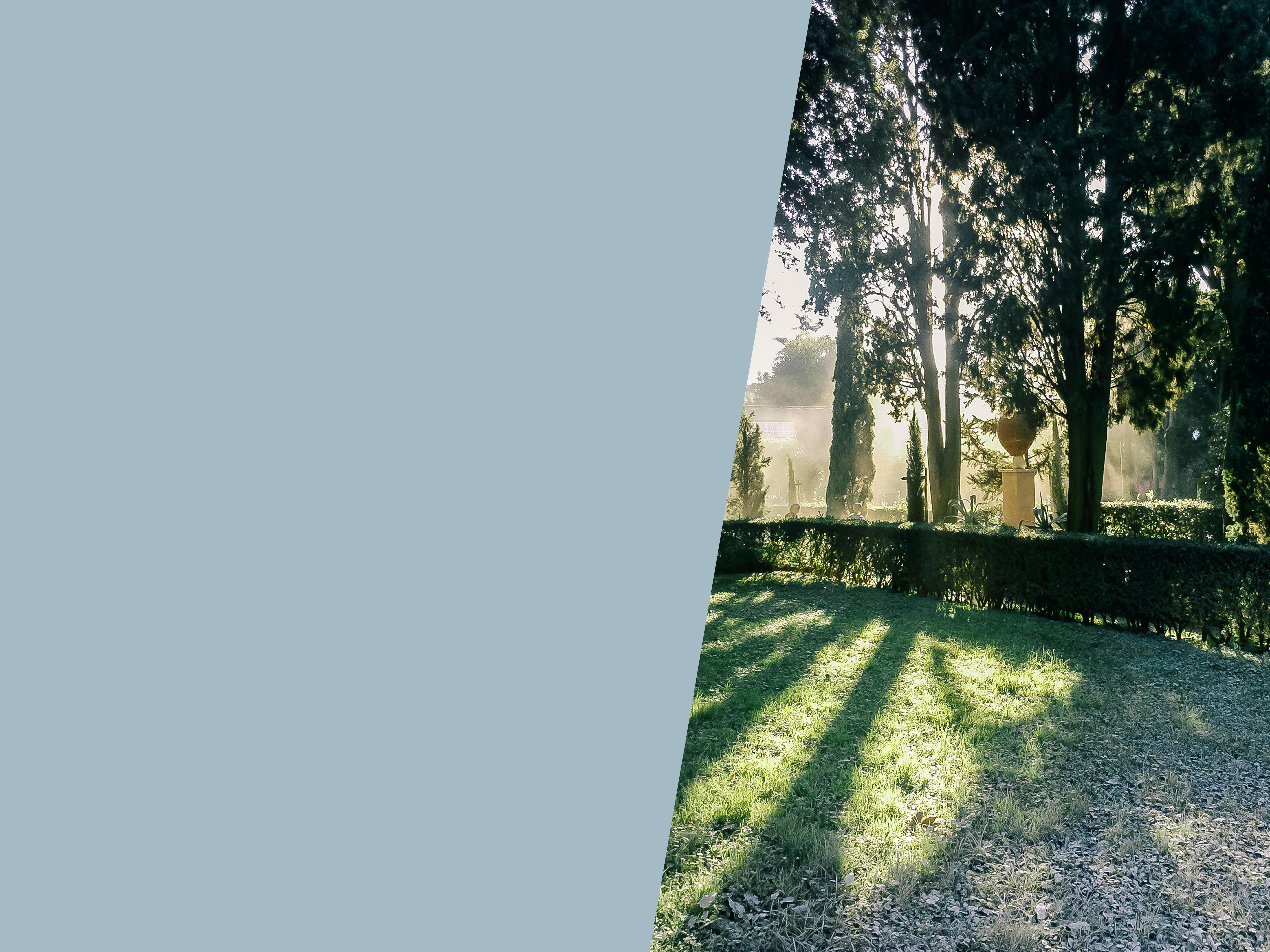 Garten der Villa Massimo Rom